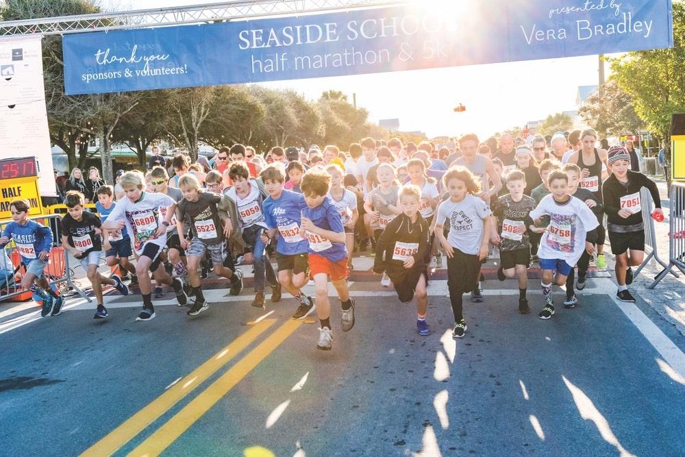 Seaside Florida, Seaside School Half Marathon & 5K