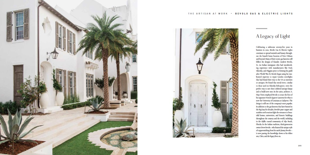 VIE Magazine, HOME—Inspirations for Home and Life by VIE, HOME by VIE, Bevolo Gas and Electric Lights, Alys Beach FL