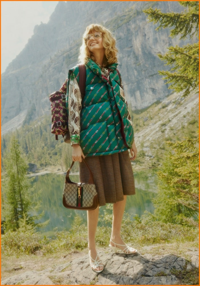 70's Inspired, Camping, Collaboration, Fashion, Gucci, Gucci Collaboration, Hiking, Outdoor Fashion, Outdoors, The North Face, The North Face Collaboration, The North Face X Gucci