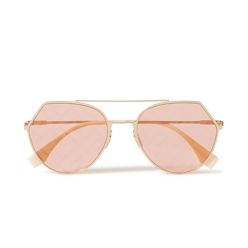 Fendi Eyeline Gold-Colored Sunglasses, NET-A-PORTER