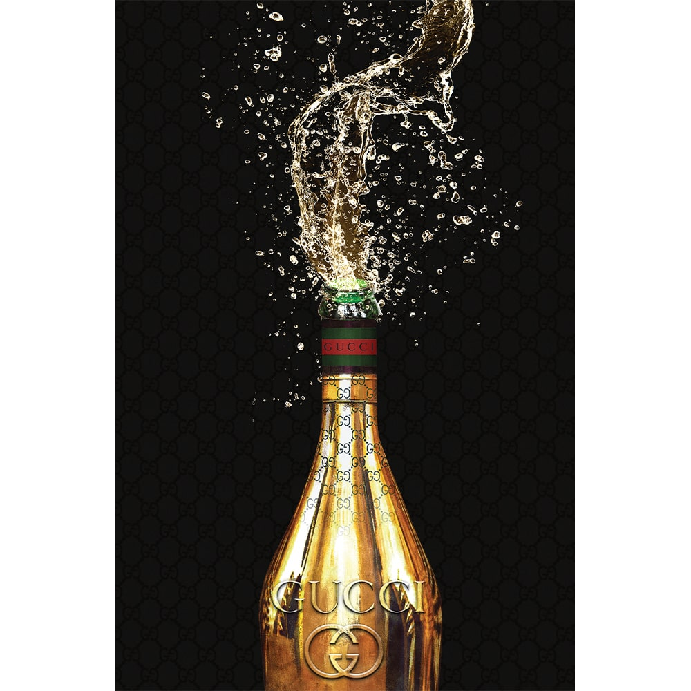 Oliver Gal Italian Champagne Wall Art