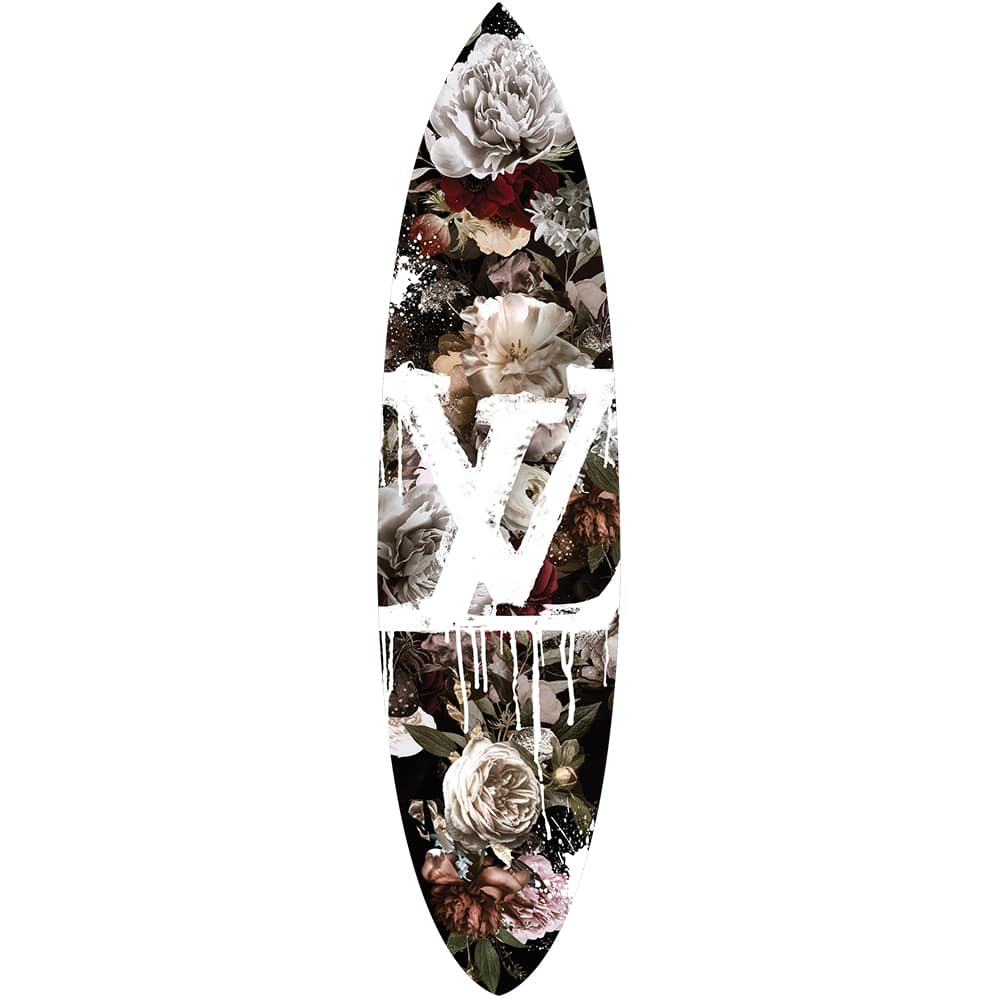 Oliver Gal King Bloom Surfboard Wall Art