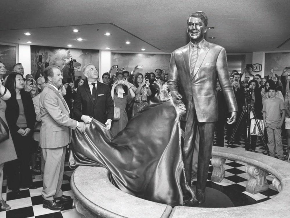 Douglas Van Howd Studios, California State Capitol Museum, President Ronald Reagan