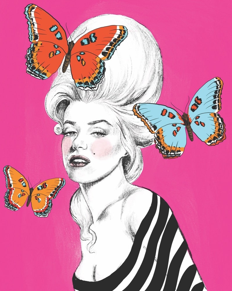 Talula Christian, Talula Christian Art, Marilyn Monroe