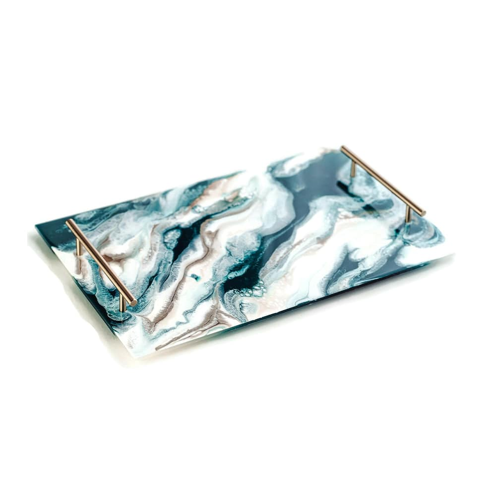 Lynn and Liana Lucite Tray