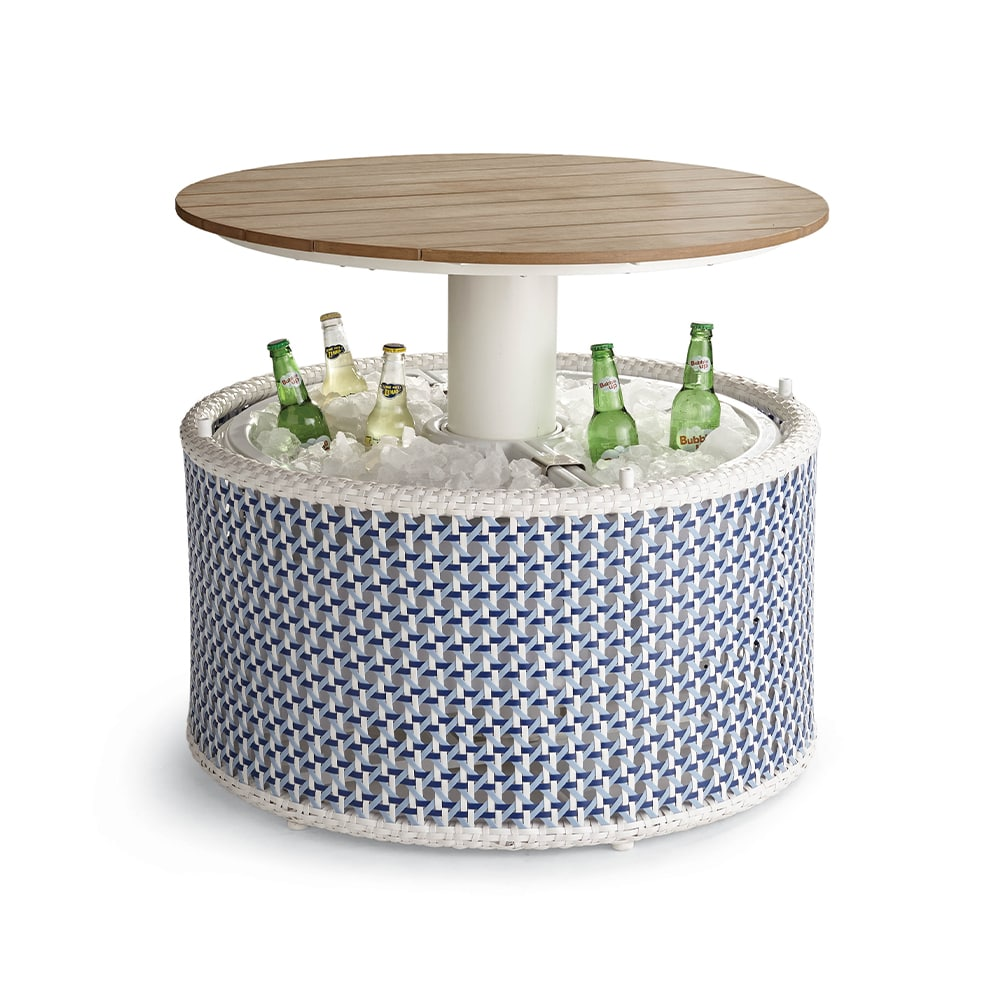 VIE Magazine C'est la VIE Curated Collection, Frontgate Malika Pop-Up Coffee Table