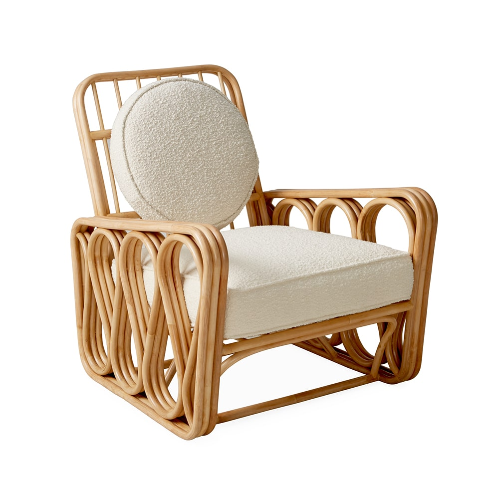 VIE Magazine C'est la VIE Curated Collection, Jonathan Adler Riviera Lounge Chair