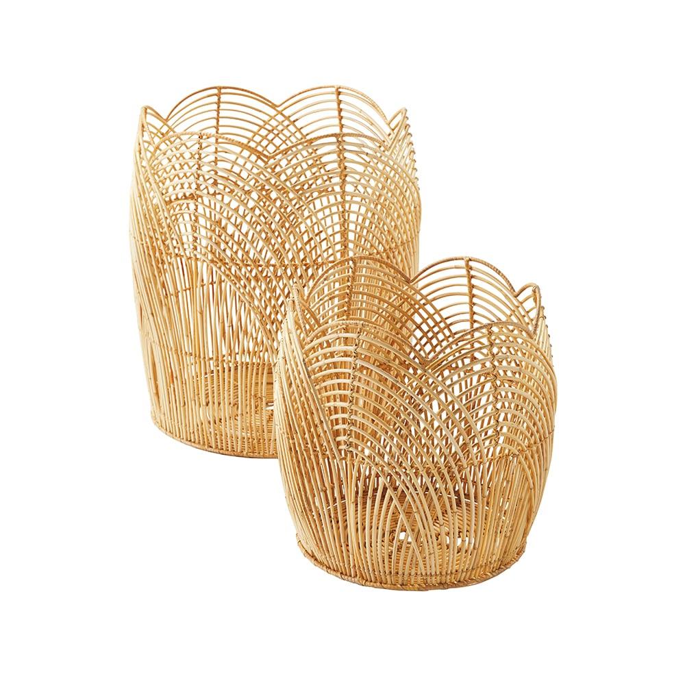 VIE Magazine C'est la VIE Curated Collection, Serena & Lily Summerwood Basket