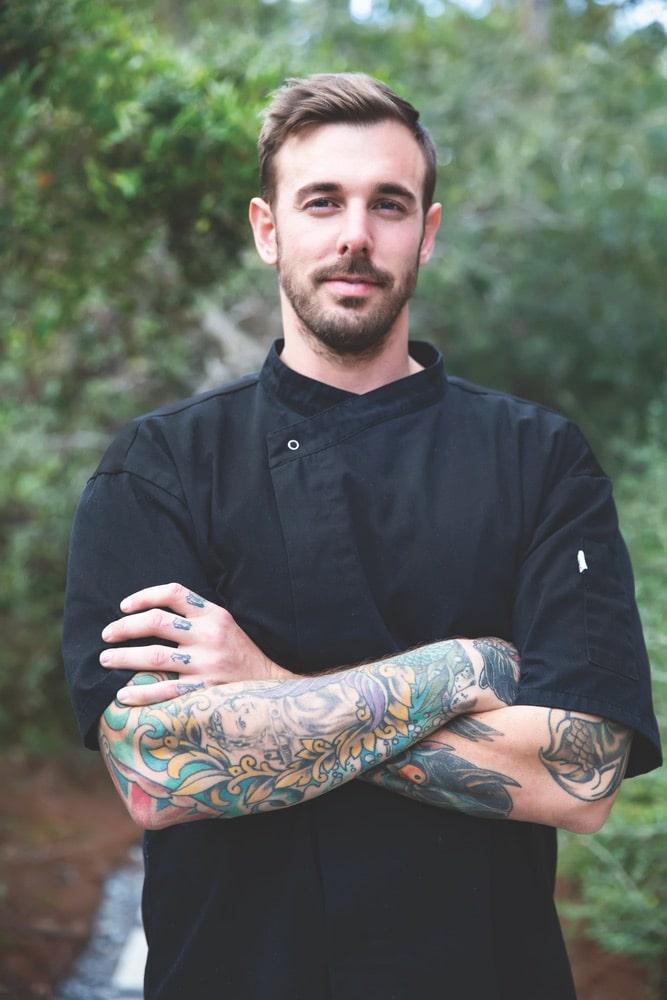 Éclat 30a, Chef Simon Sullivan, Paul Henslin