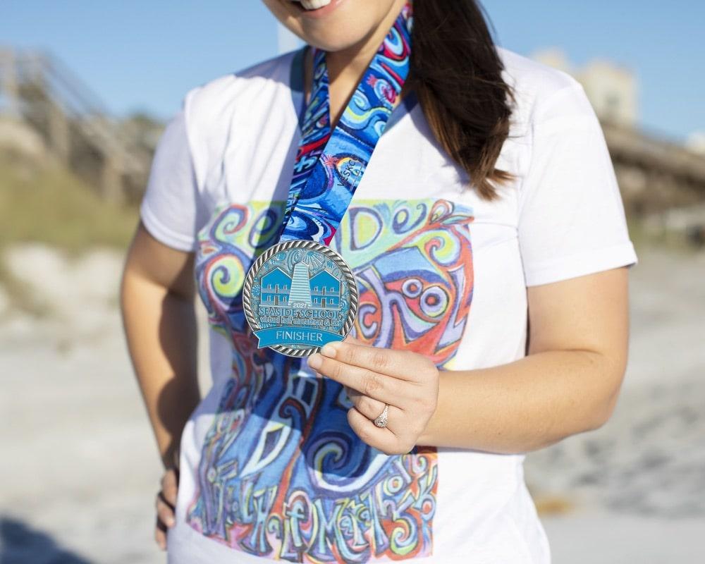 Seaside Race, Seaside Neighborhood School, Seaside 5k, Seaside Half Marathon Fundraiser, Seaside School Foundation, Race, Virtual, virtual 5k, virtual half marathon