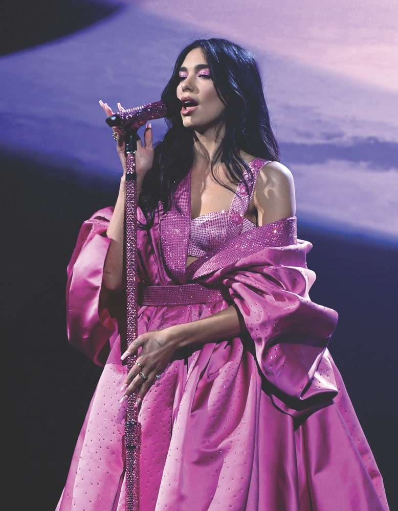 Dua Lipa, 63rd Annual Grammy Awards, Los Angeles Convention Center, The Recording Academy
