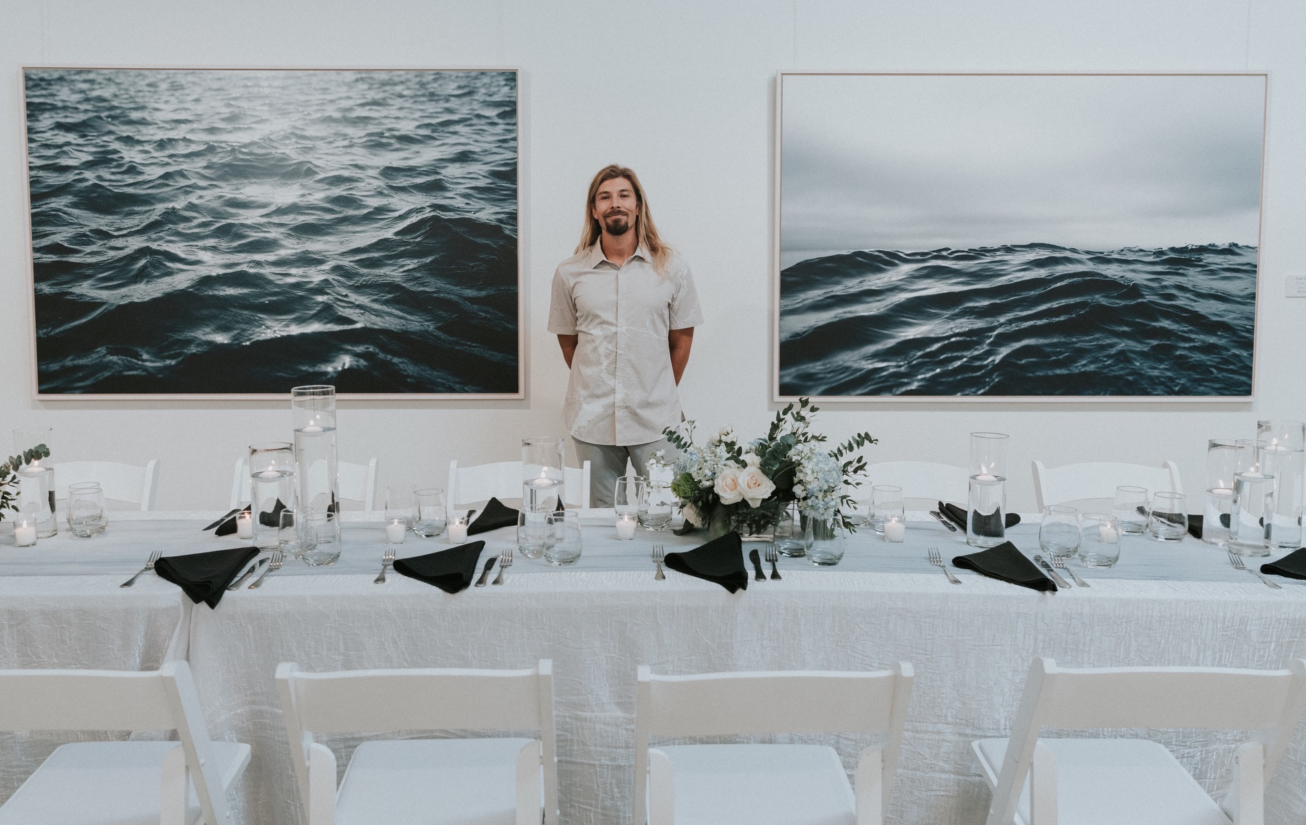 Jonah Allen, An intentional moment, gallery opening, documentary, Shane Reynolds, Photographer, Artistic Photographer, Celebration, Waves, Sand, Dune Lakes, Nature