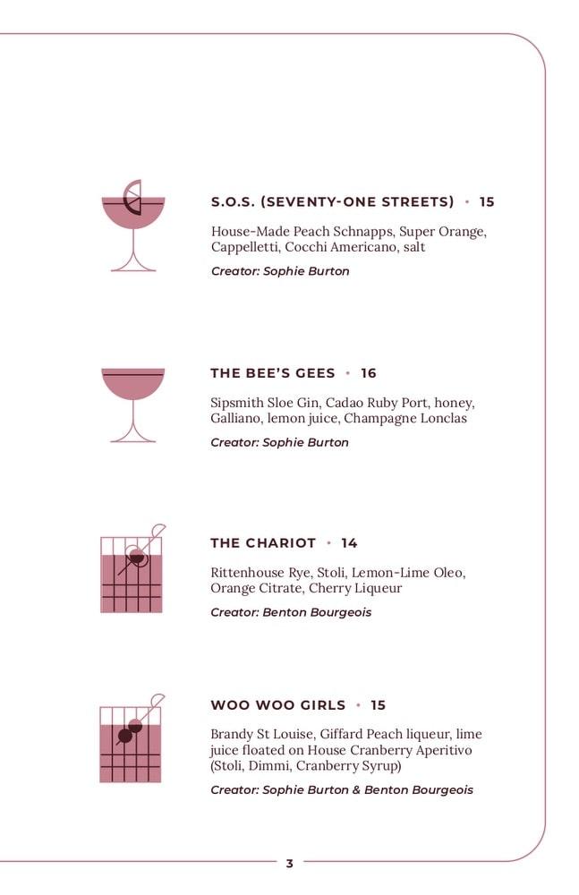 JoJos Beloved, Cocktail Lounge, Craft Cocktails, Drinks, Spirits, Unique Creations, Delicious, Sophie Burton, Politan Group