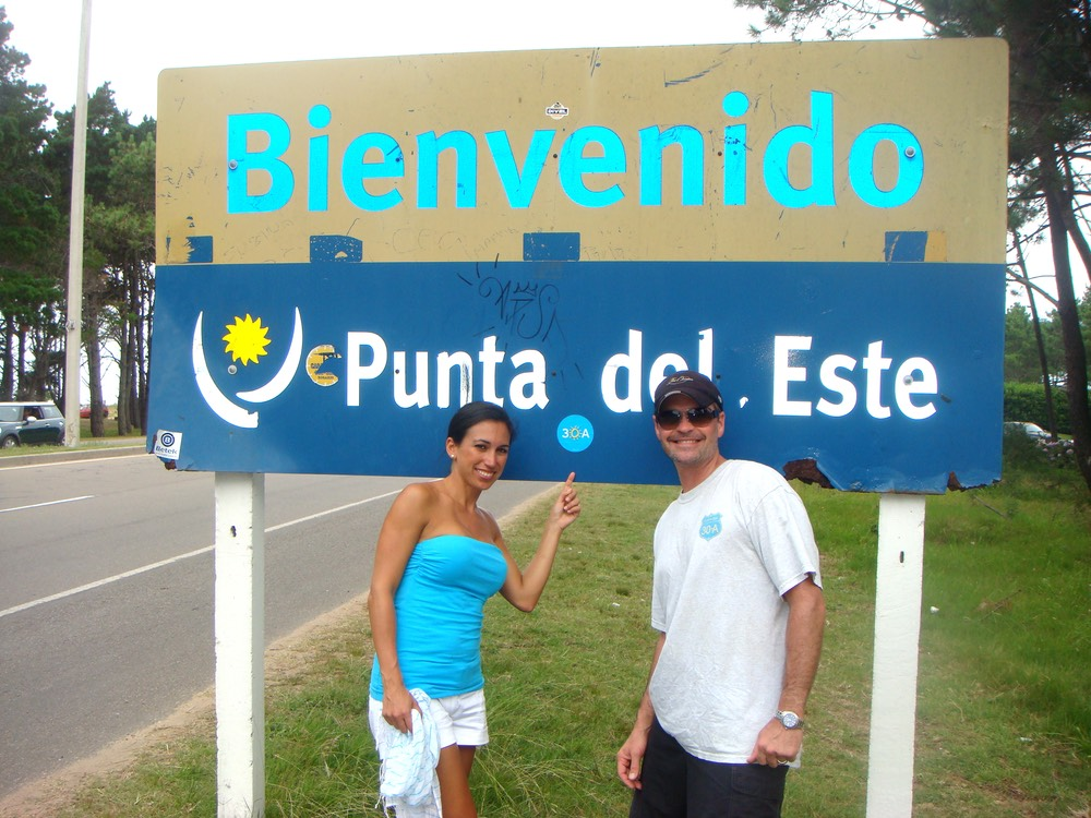 punta del este welcome sign 30A sticker vie magazine