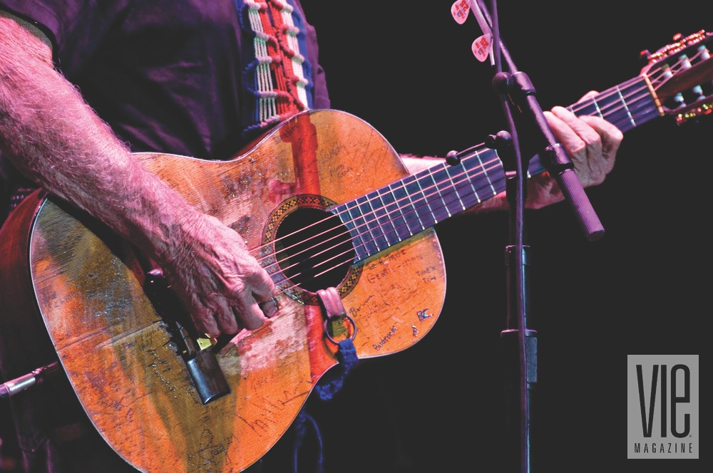 Deluna Fest Pensacola Beach Willie Nelson guitar