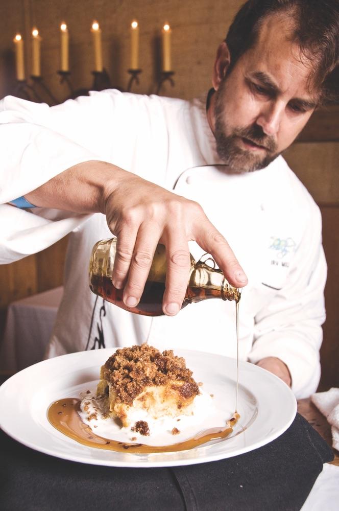 vie magazine la douceur de vivre holiday dessert recipe pumpkin bread pudding
