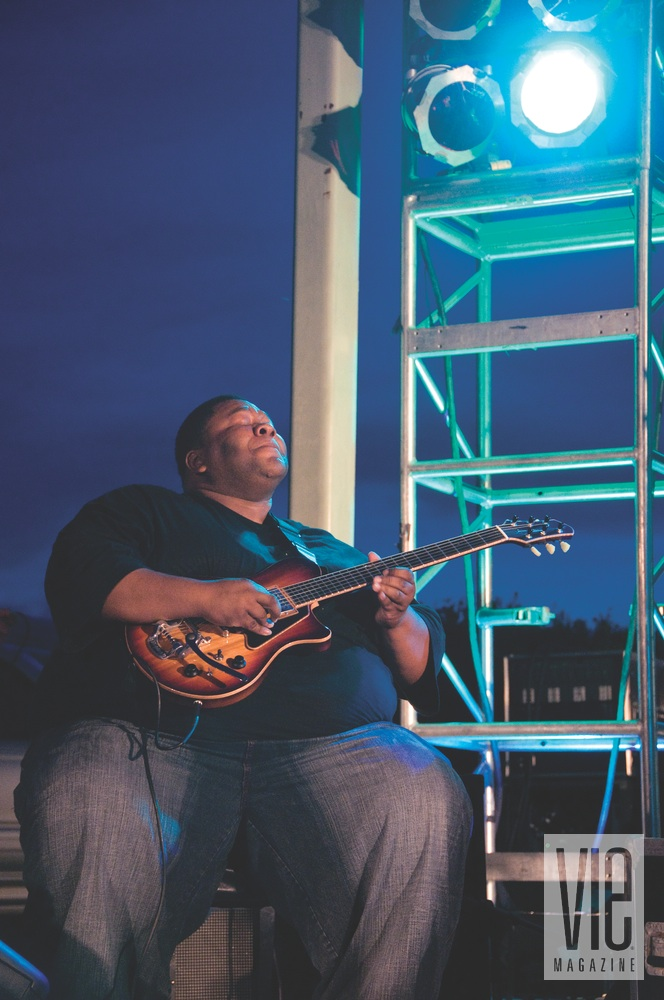 Pier Park Summer Concert Series guitarist Derwin Perkins Big D