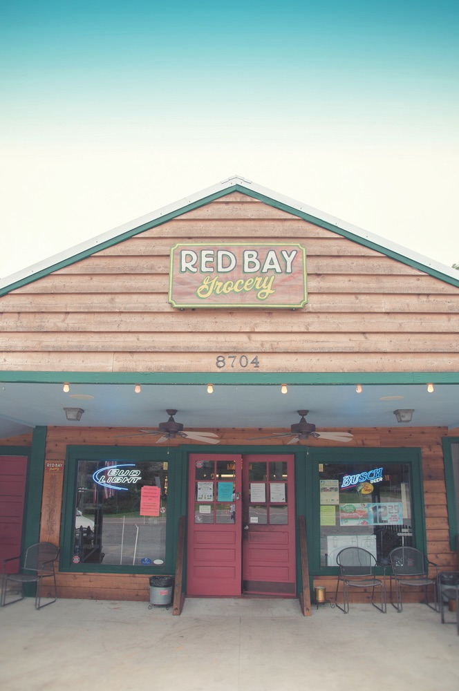 Red Bay Grocery store front