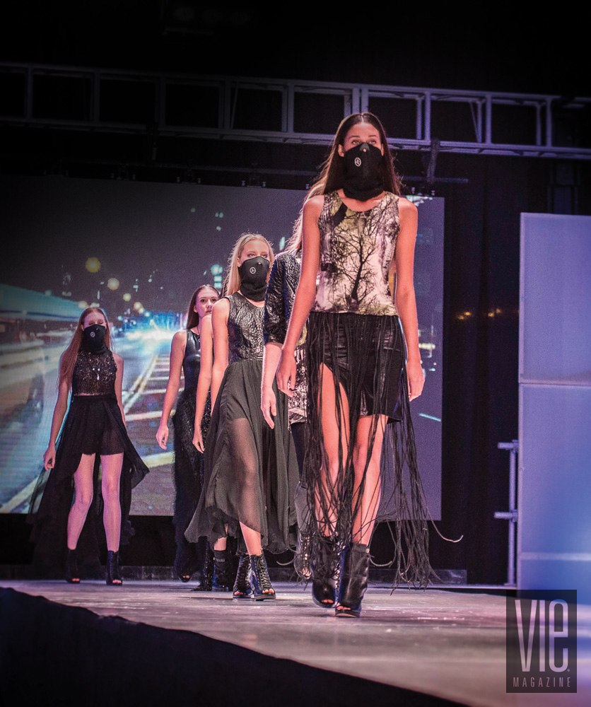 Models walking at South Walton Fashion Week 2014