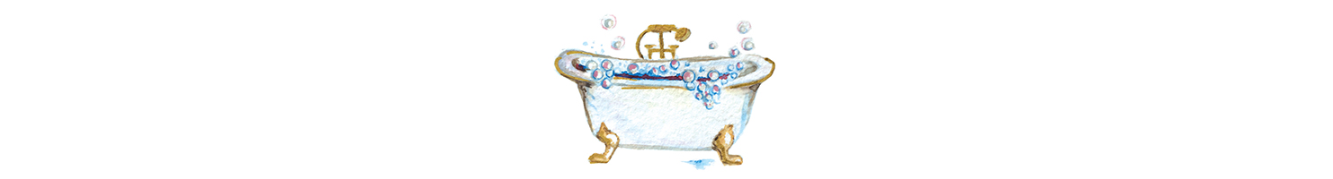 bathtub drawing