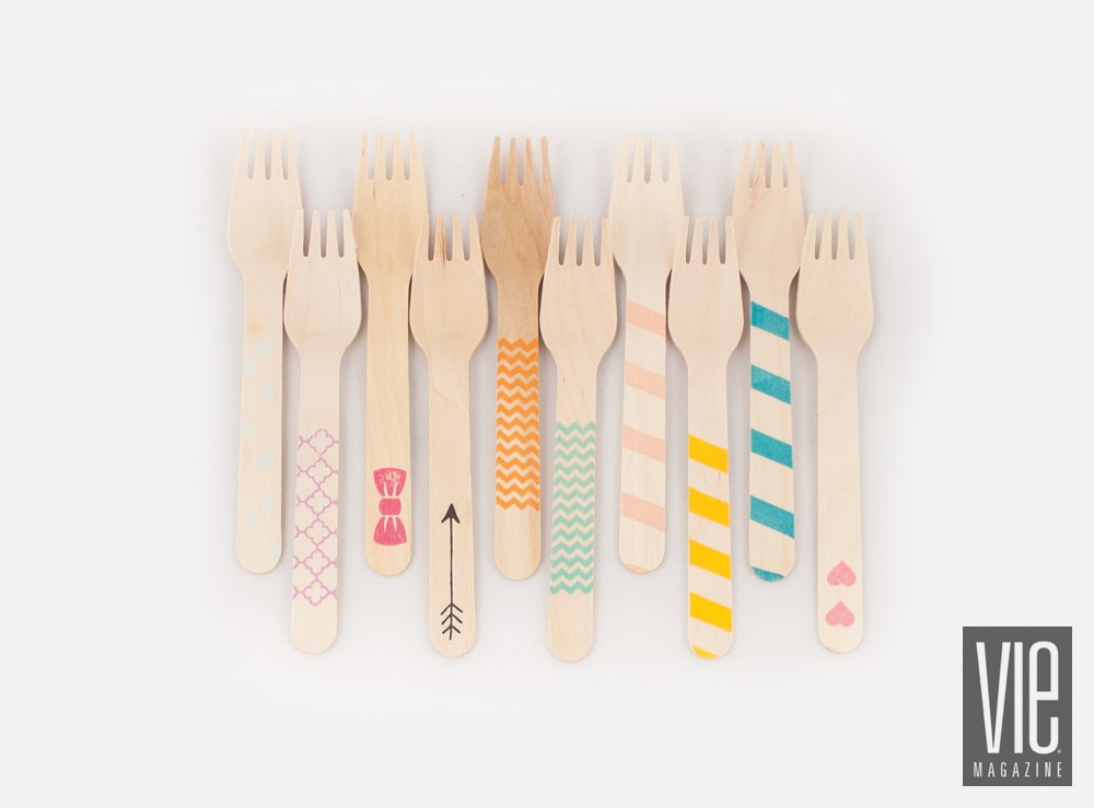 Sucre Shop wooden utensils variety pack
