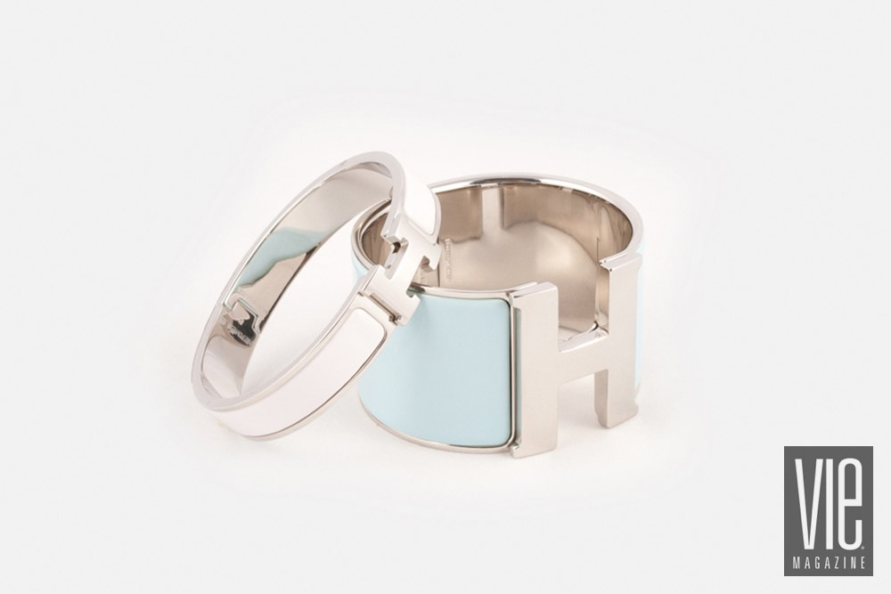 Hermes Extra large enamel bracelet