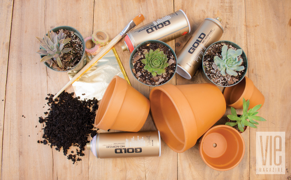 Potted plant materials