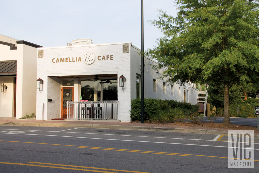 Camellia Cafe in Fairhope, Alabama