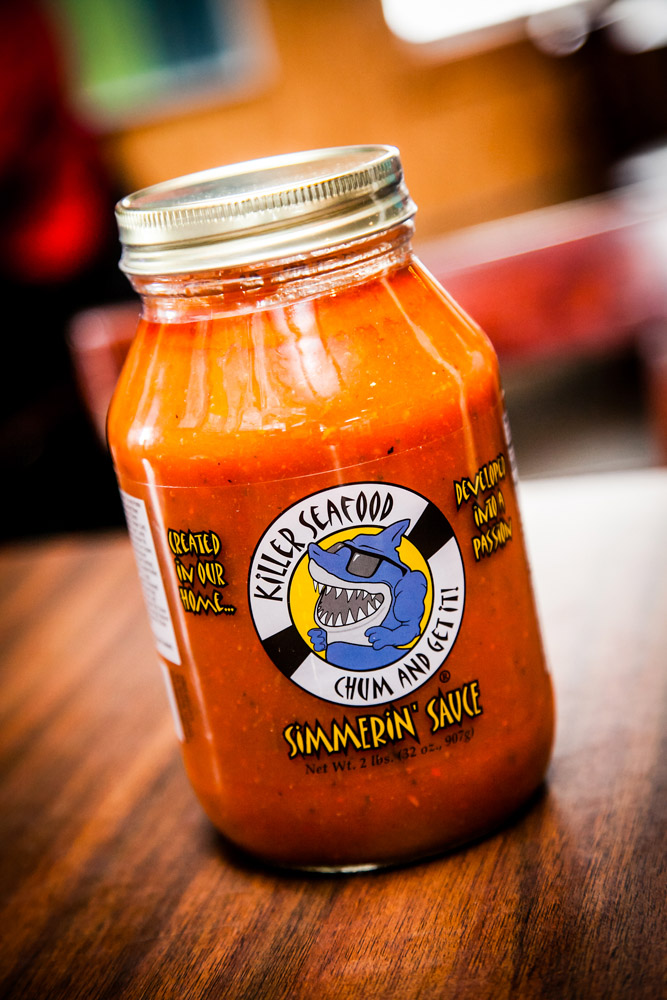 Simmerin' Sauce from Killer Seafood