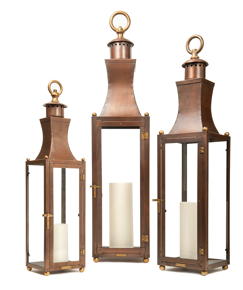 VIE Magazine Bevolo gas electric lights laterns