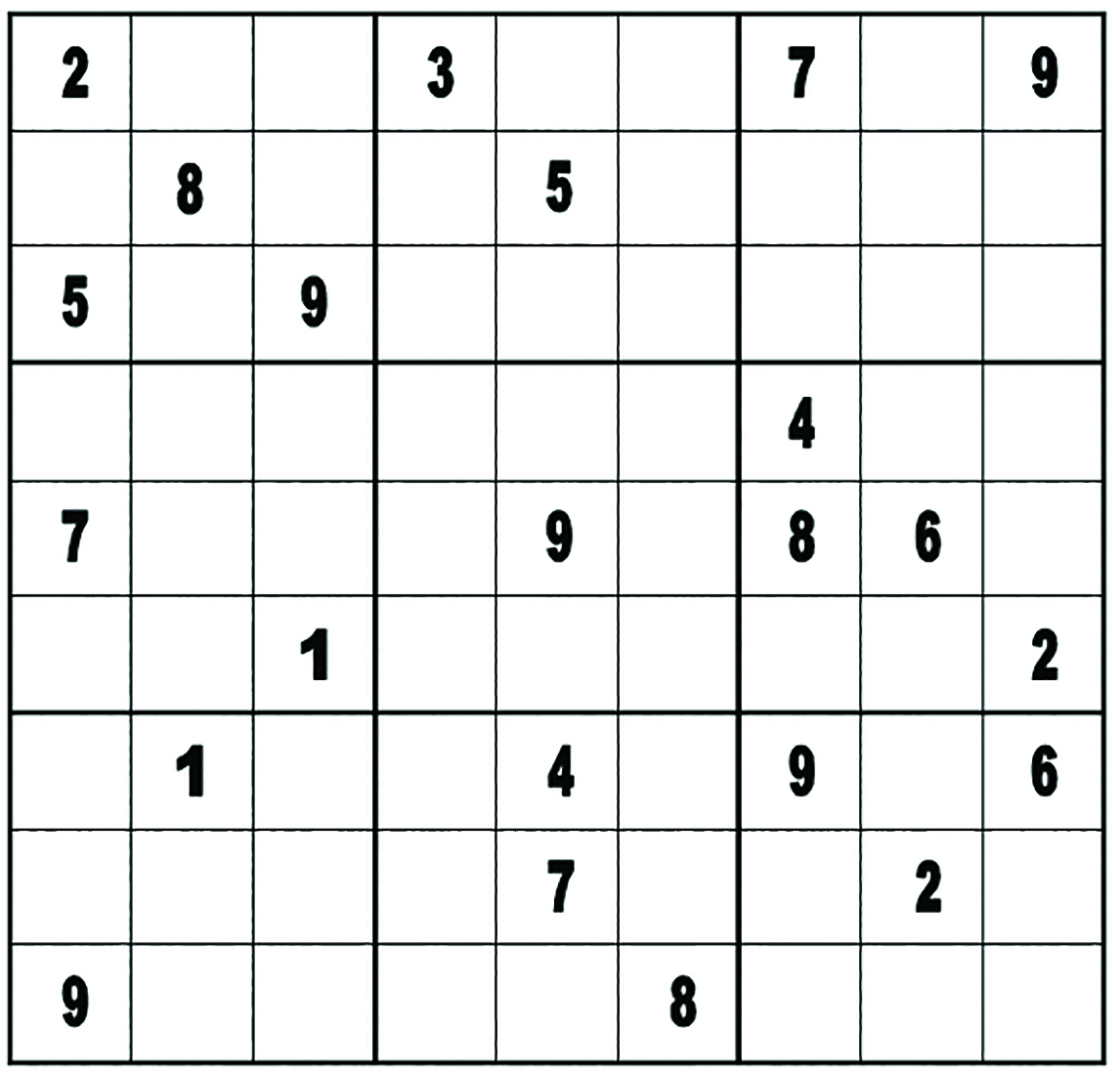 VIE Magazine Thinking inside the box Sudoku Solution