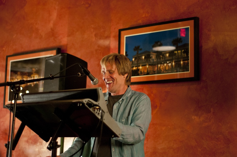 Lead singer and keyboard player Donnie Sundal always displays a passion for performing.