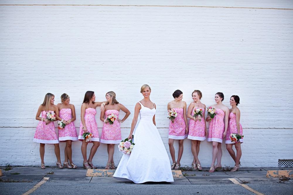 VIE Magazine destination wedding bridesmaids