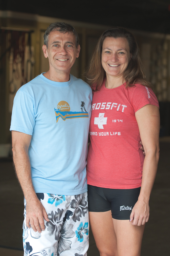 30A CrossFit owners Tony Young and Karen Katzenbach coach the CrossFit lifestyle from Seacrest Beach