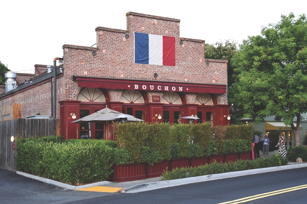 Thomas Keller's Michelin-rated Bouchon in Yountville