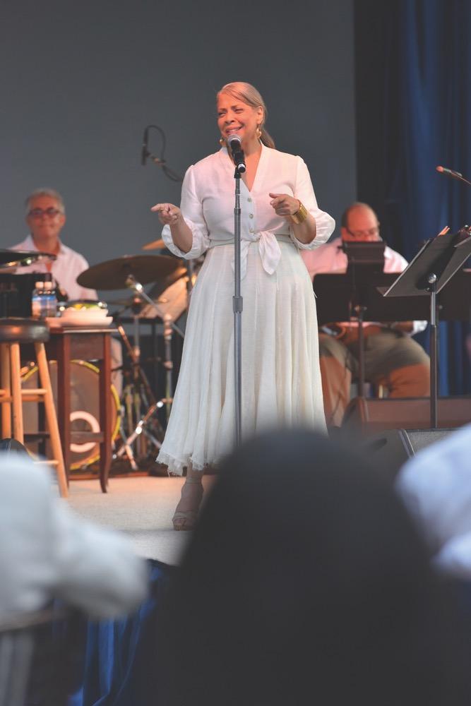 Patti Austin singing