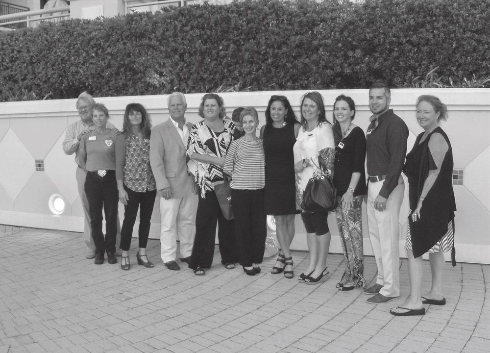 Organization representatives at the 2015 IMPACT 100 NWF grant finalist ceremony