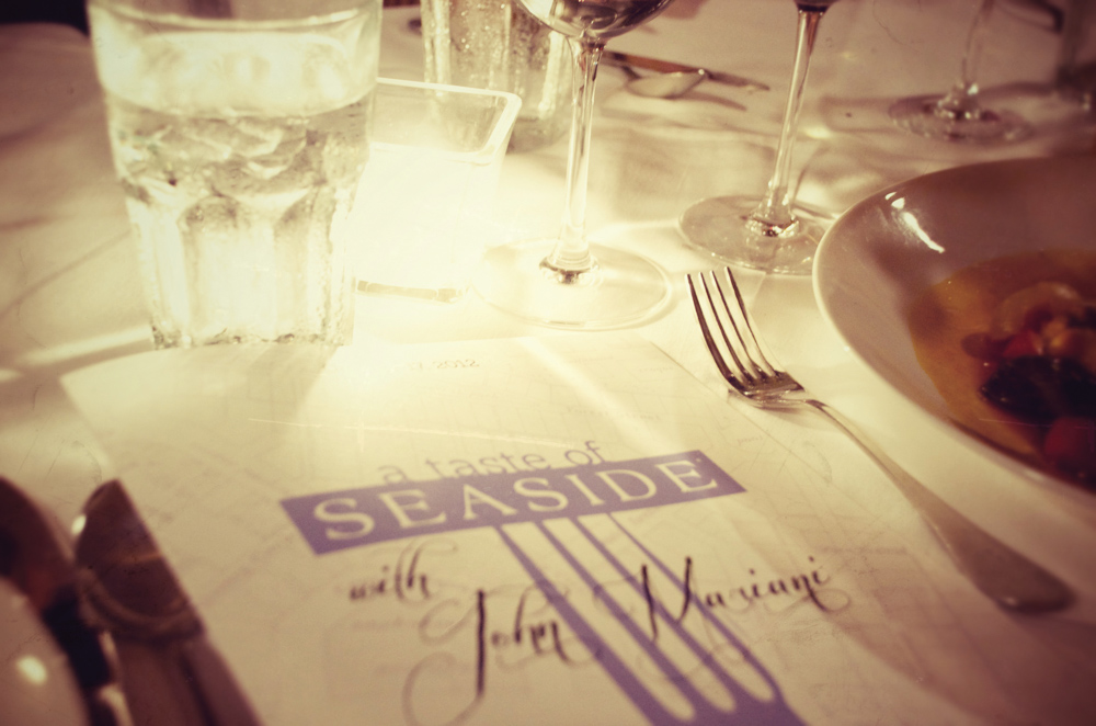 A Taste of Seaside was hosted by Bud and Alley's restaurant and benefited The Seaside Neighborhood School Garden