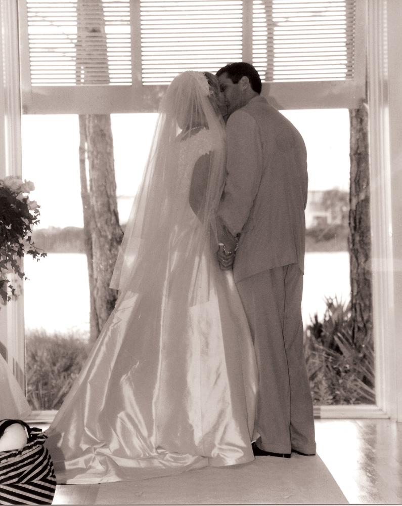 Gerald and Lisa Burwell Wedding September 29, 1996, Carillon Beach Chapel