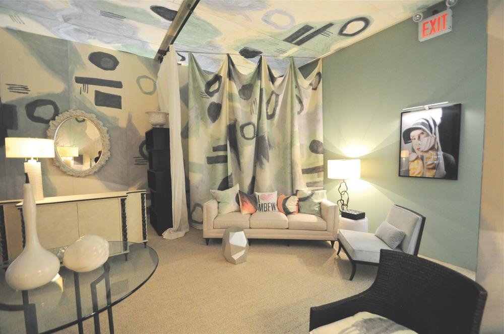 Wesley Cadle VIE Magazine Mercedes Benz Fashion week star lounge behind the scenes
