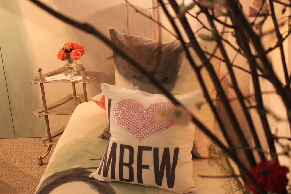 VIE Magazine Mercedes Benz Fashion week star lounge behind the scenes