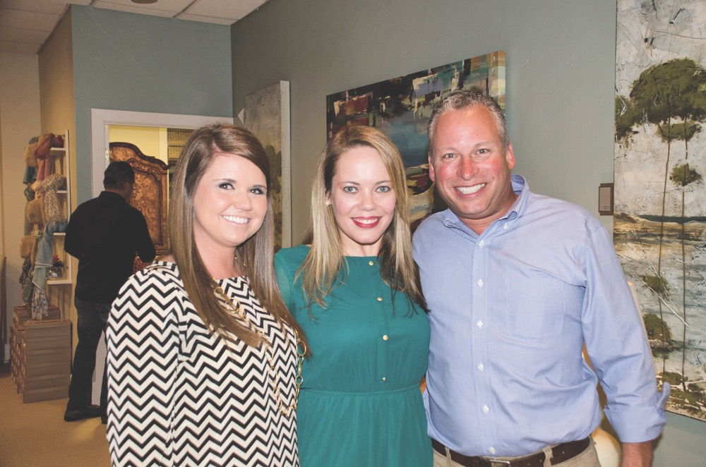 Lindsay Miller, Lauren Gall, and Steve Barber