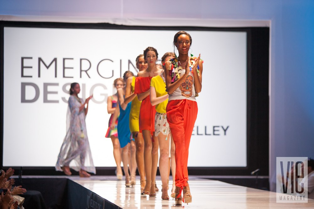 SWFW Models walking down the runway