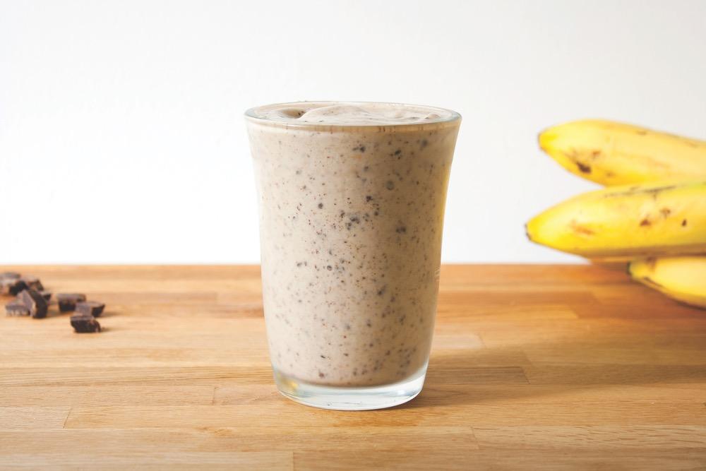 Vegan Banana Milkshake