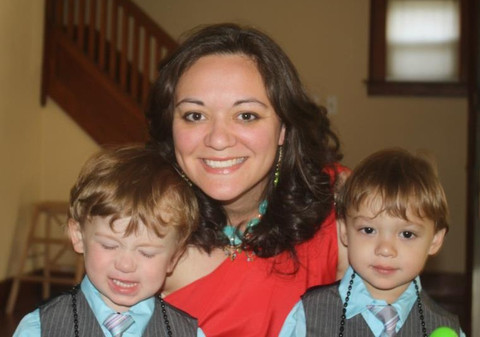 Jess McClary and Her Two Kids (the McClary Brothers), Photo Courtesy of McClaryBros