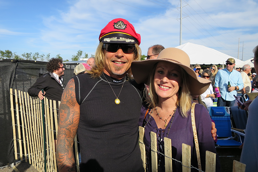Our Account Manager, Mary Jane Kirby, with Jeffrey Steele. Photo Courtesy of Kim Kirby