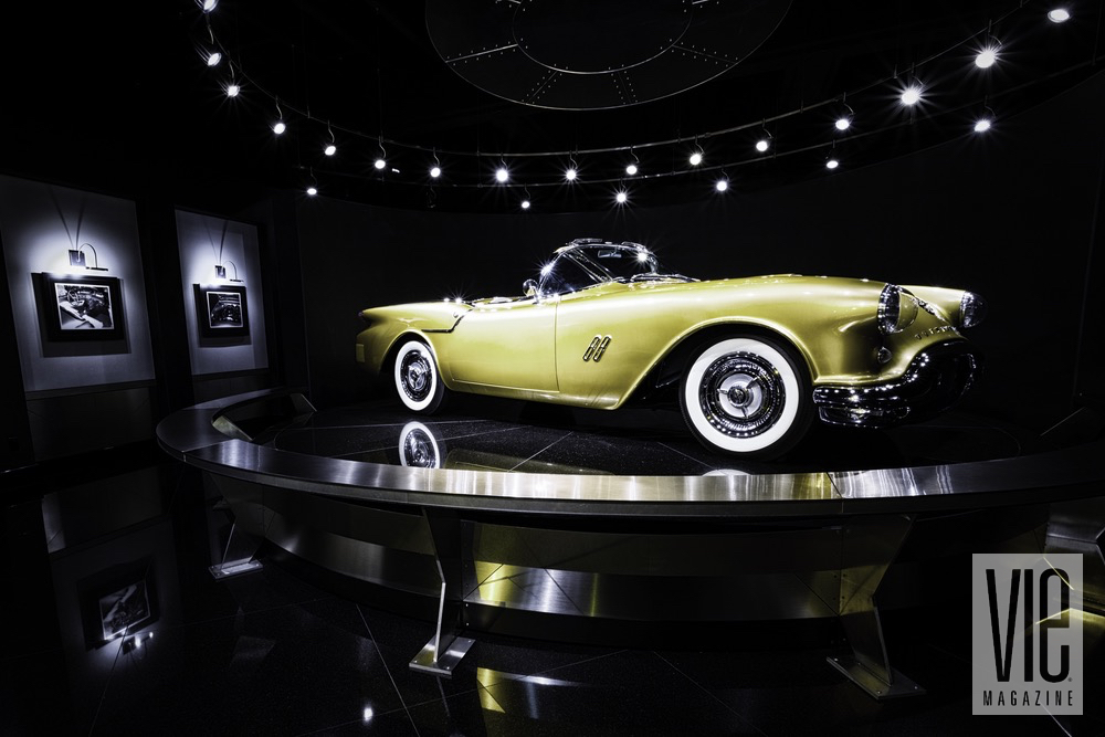 A Golden Rod Yellow Boattail Speedster Convertible At The Auto Museum At Gateway Canyons Resort