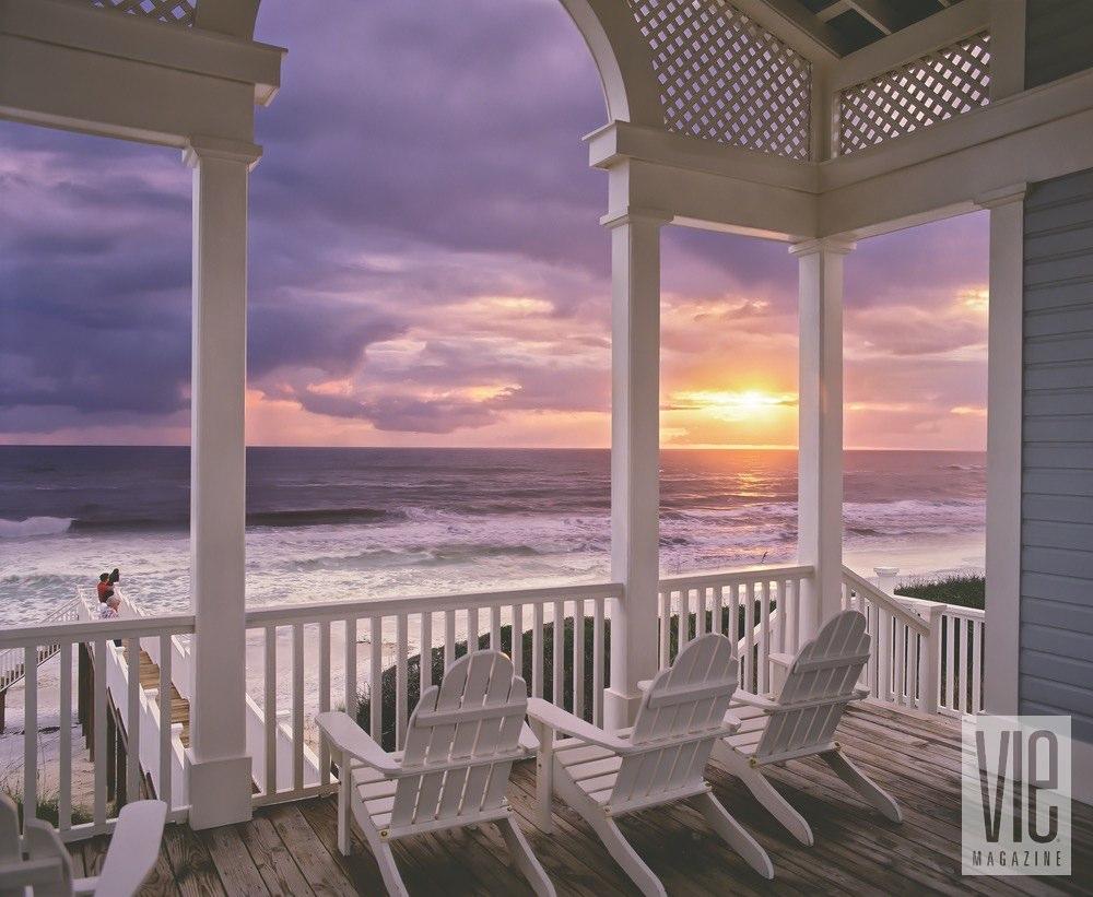 Vie Magazine florida sunsets tupelo pavilion seaside jack gardner