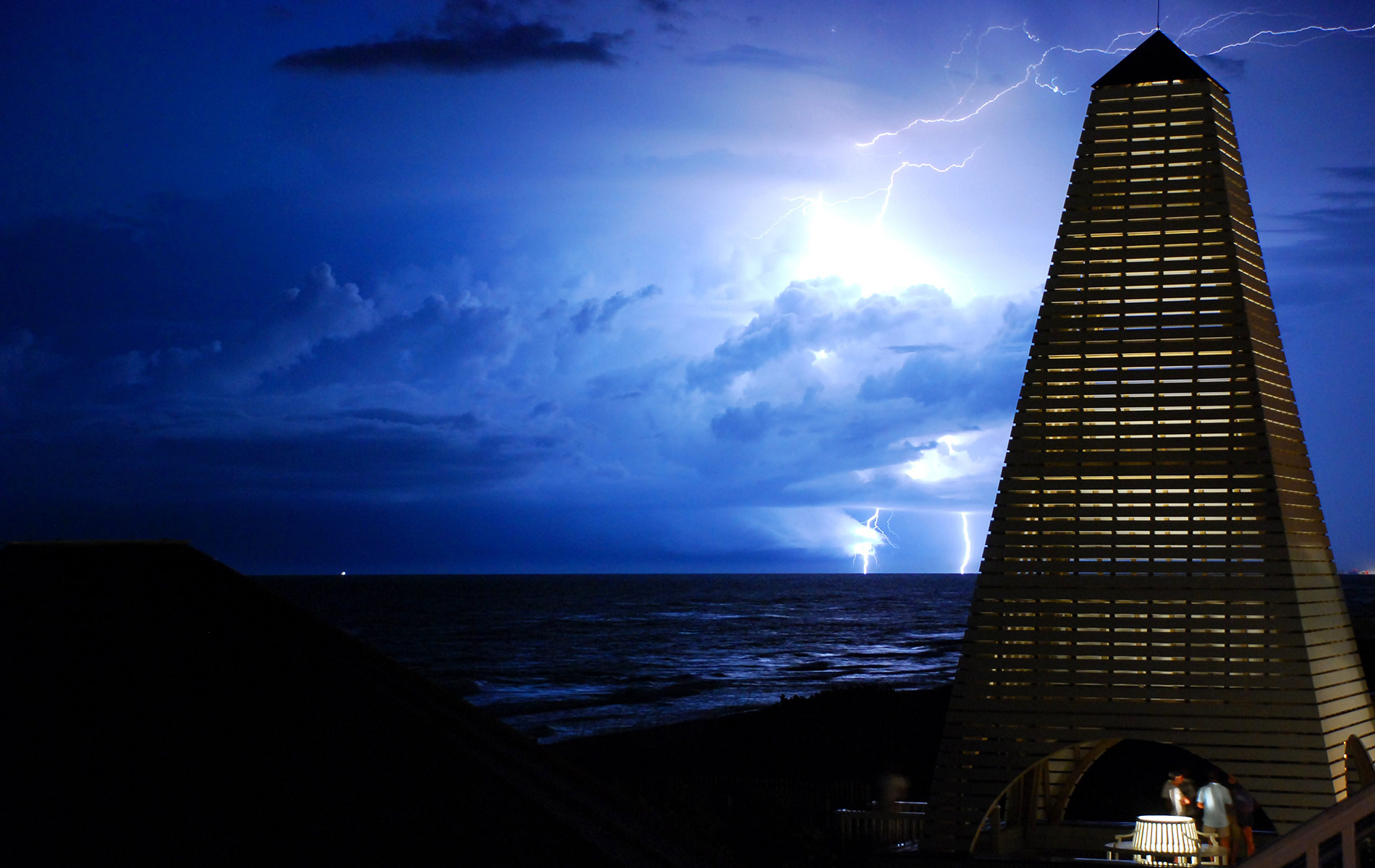 """Lighting Strikes Twice""- by Brandan Babineaux photography contest vie magazine"