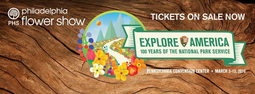 "Philadelphia Flower Show 2016 ""Explore America"""